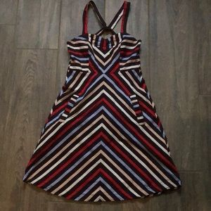 Kimchi Blue Fit & Flare Striped Dress